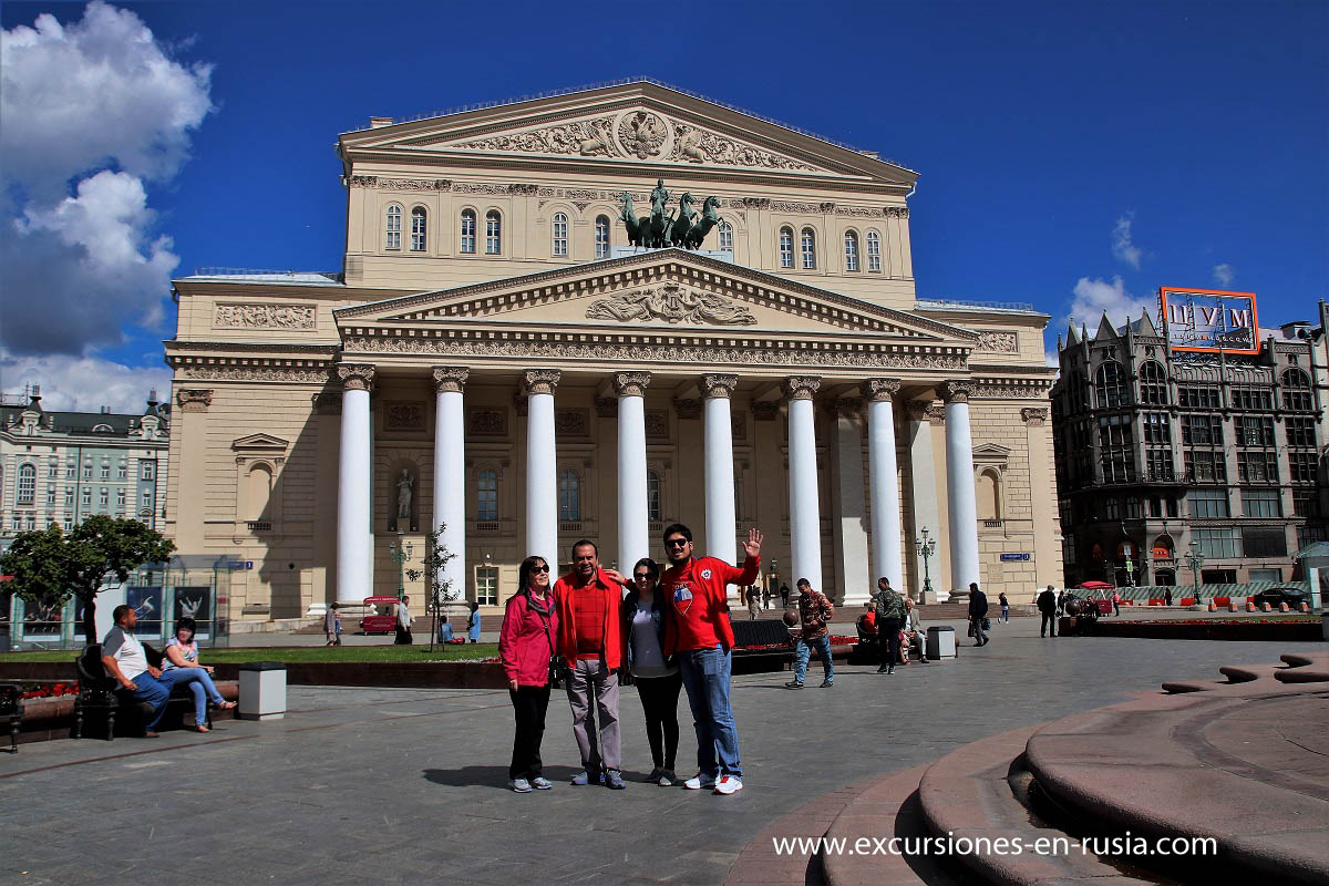 Moscow historical center Tour