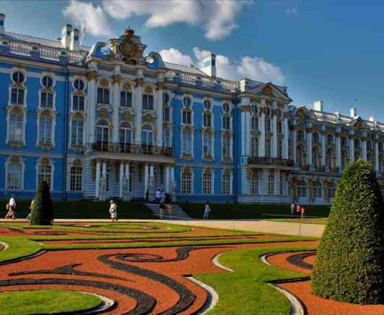 Pushkin city tour